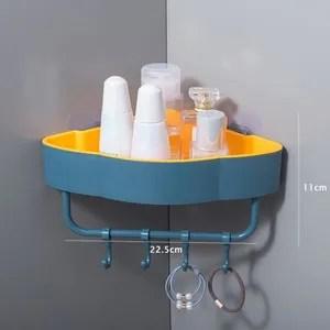 etagere d angle de douche en plastique