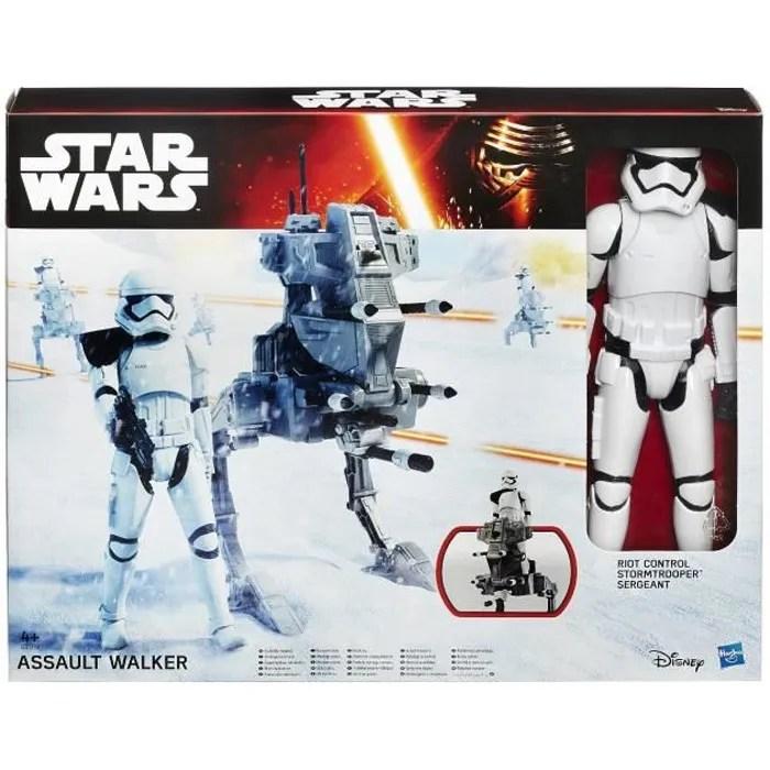 star wars e7 figurine 30 cm et vehicule