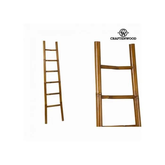 Echelle Bambou Deco Porte Serviette Ou Porte Manteau Cdiscount Bricolage