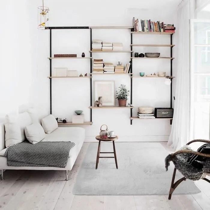 tapis blanc doux