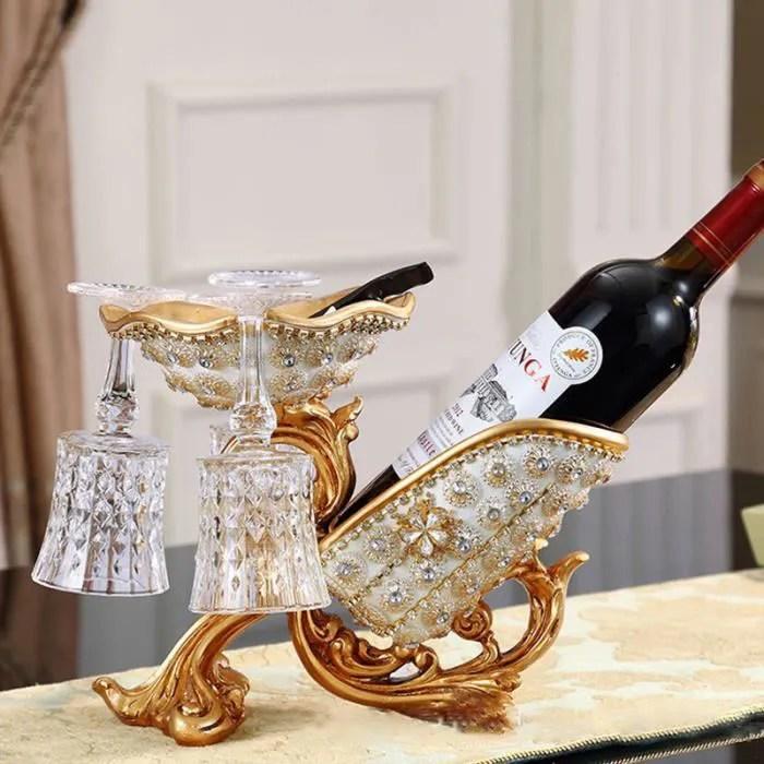 casier a vin creatif europeen decoration de la maison bouteille de biere whisky de luxe support de bouteille de vin artisanat en res