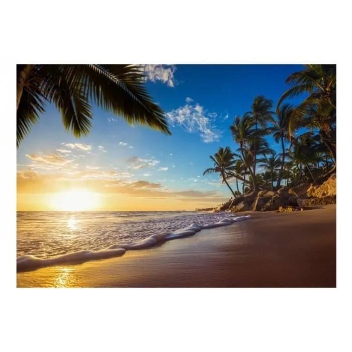 mesure 350x245 esthetique papier peint paysage eau soleil ciel palmiers mer plage nature