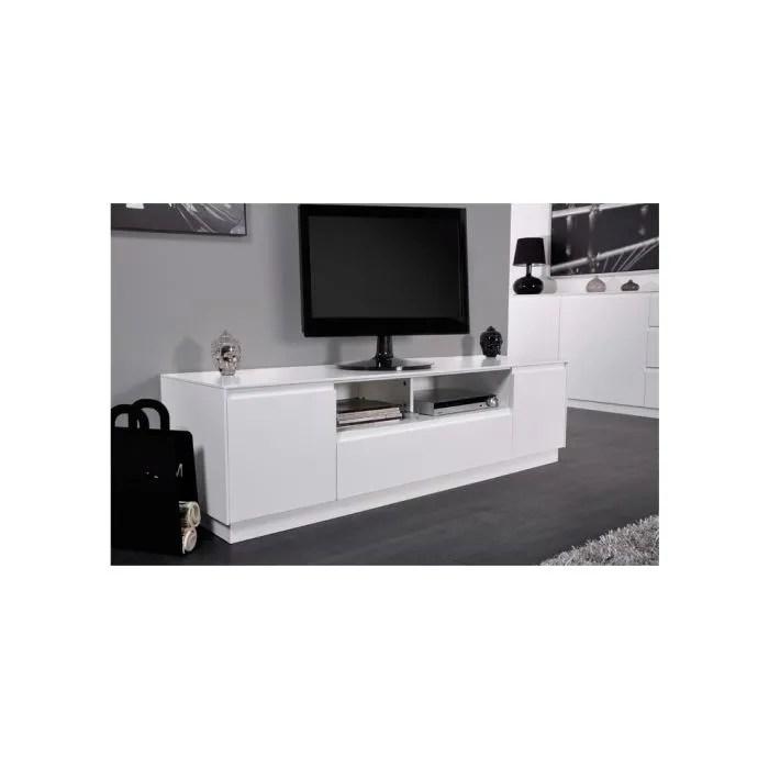 meuble tv lack blanc achat vente