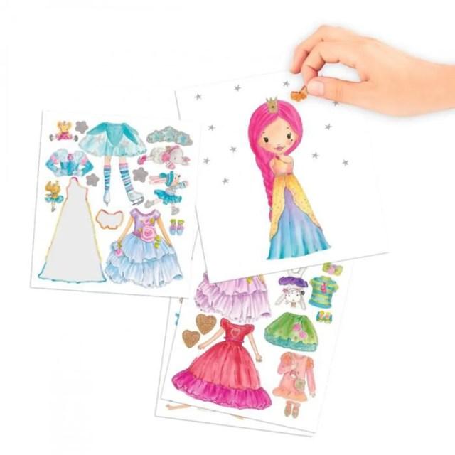 Album coloriage Princess Mimi Dress me up - Cdiscount Jeux - Jouets