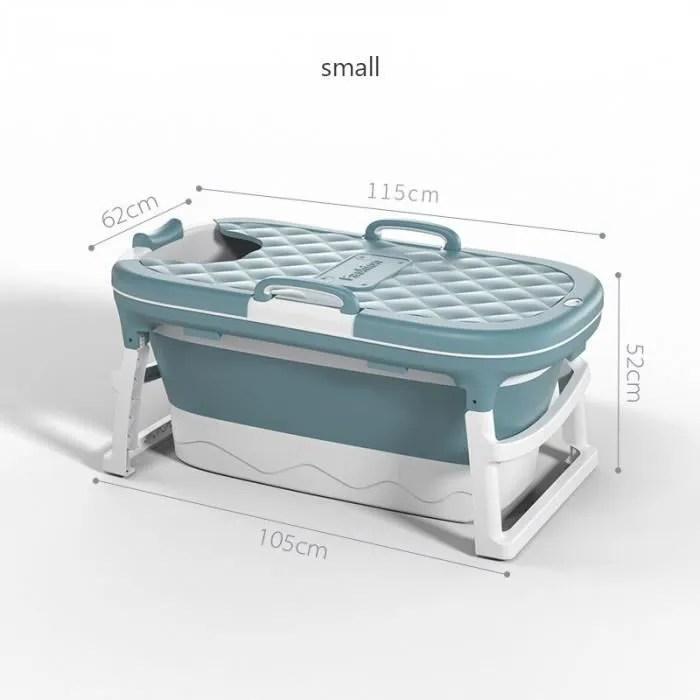version s3 baignoire pliable en plastique pour adulte grand de 1 4m 55in a vapeur epaisse adulte baril sueur la maison