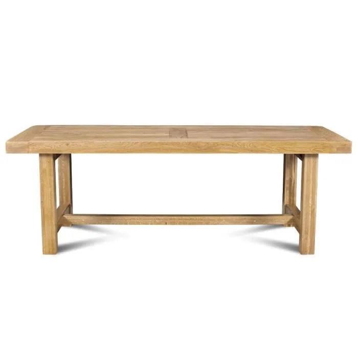 table de ferme la bresse bois chene