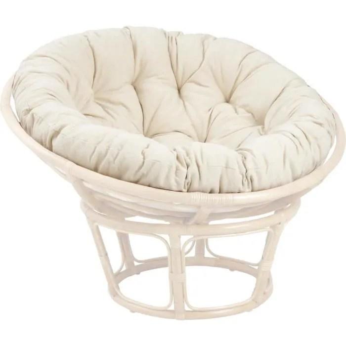 coussin pour fauteuil papasan