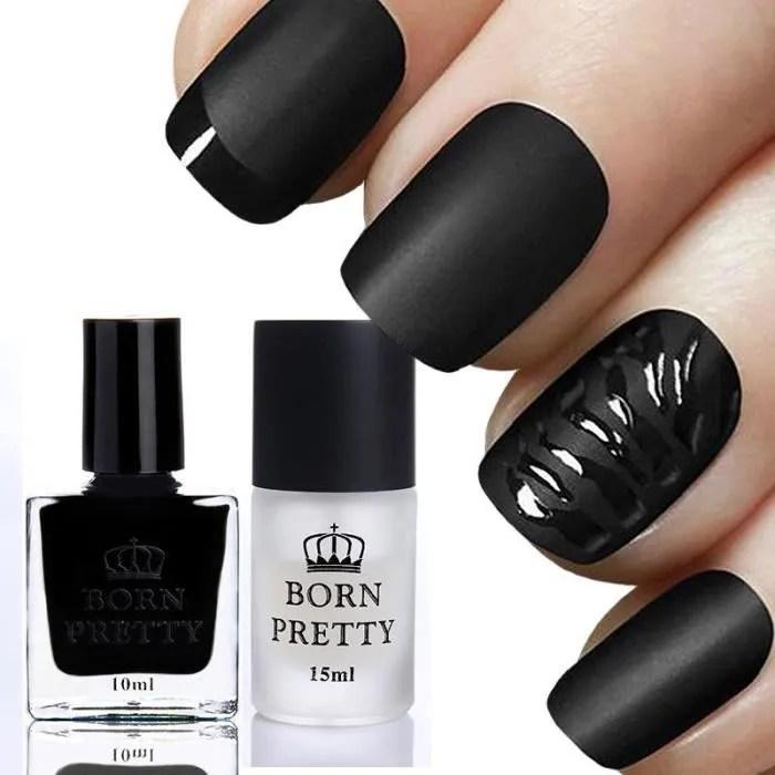ml brillant noir vernis a ongles et 15