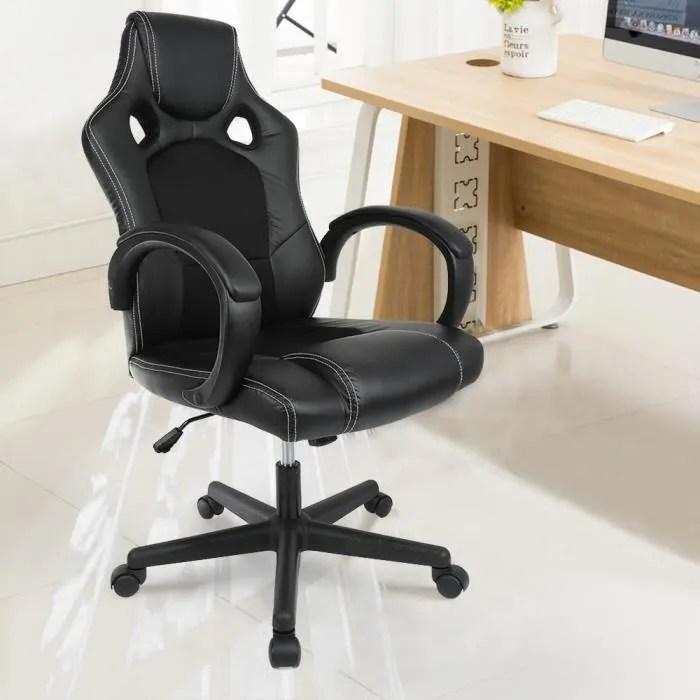 fauteuil gamer rotatif chaise de jeu