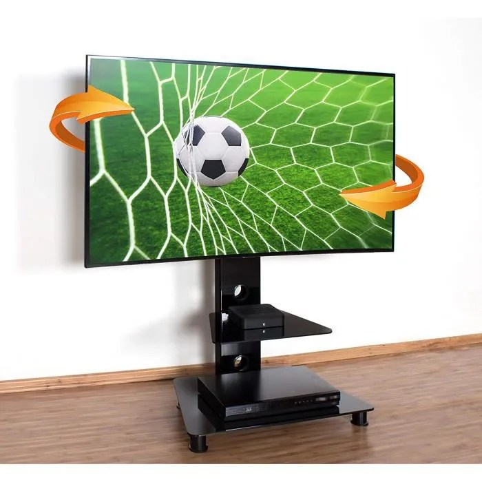 ricoo meuble sur pied tv design fs707b support en