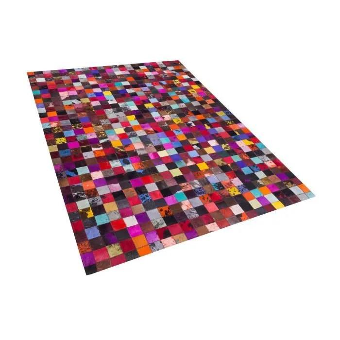 https www cdiscount com maison tapis tapis patchwork multicolore en cuir 160x230 cm e f 1172520 bel7105271077461 html