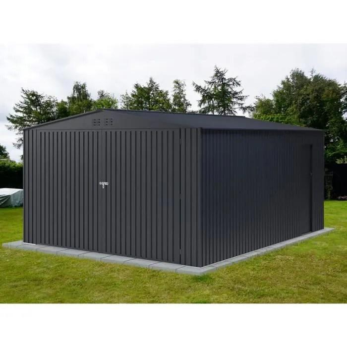 garage metallique 3 8x4 8x2 32m proshed anthracit