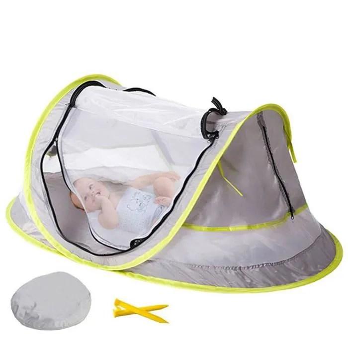 tente de lit bebe enfant portable pliable voyage jouets de plage anti moustiques solaire protection