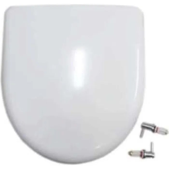 Abattant Selles Royan Compact Allia Prima Multicompact Blanc 0187 Cdiscount Bricolage