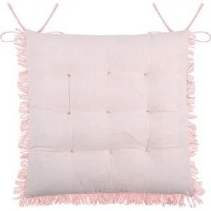 galette de chaise exterieur rose