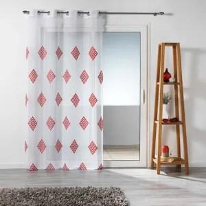 rideaux rouge achat vente rideaux