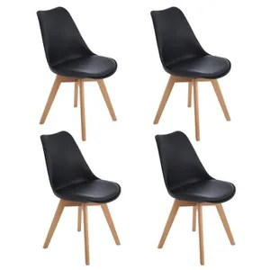 chaise scandinave rembourree
