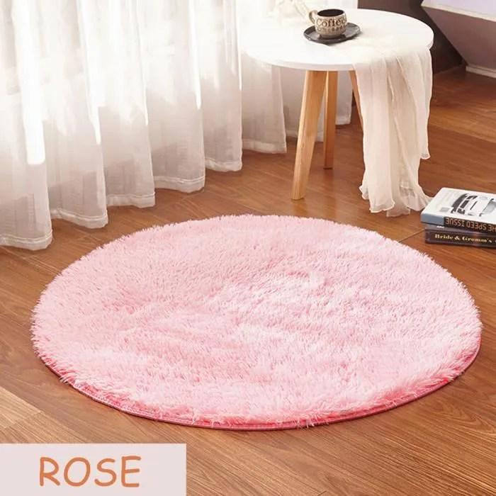 tapis salon tapis rond chambre enfants