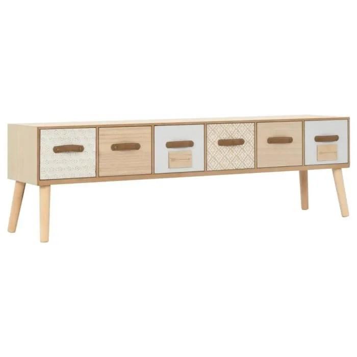 meuble de rangement moderne avec 6 tiroirs diffe