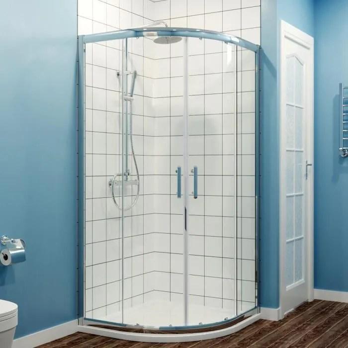 receveur de douche 80x80 quart de rond