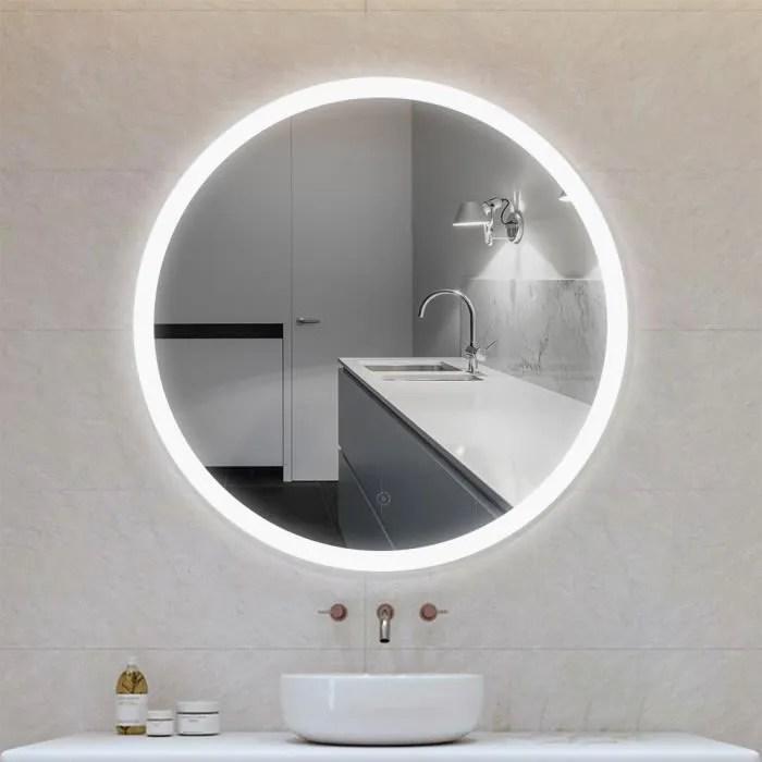 Miroir Led 90 Cm Achat Vente Pas Cher