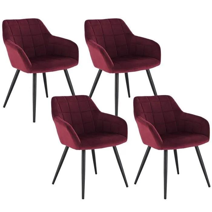 chaise de cuisine rouge