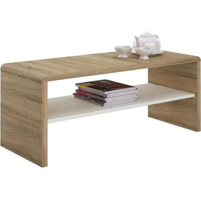 table basse noelle table de salon rectangulaire o