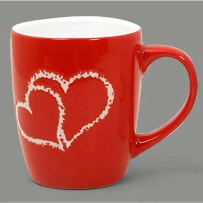mug a cafe rouge a coeur