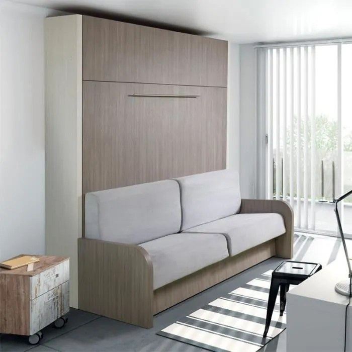 armoire lit escamotable canape