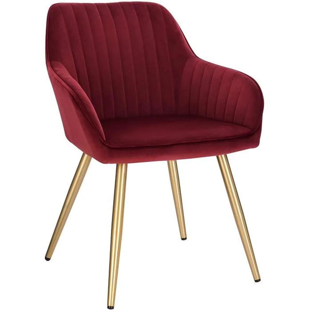 fauteuil scandinave assise en velours
