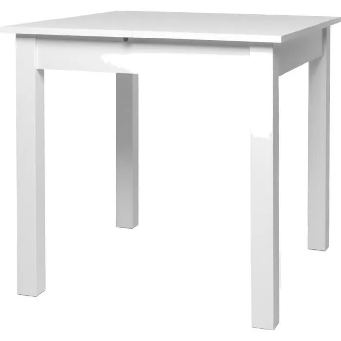 table carre blanche