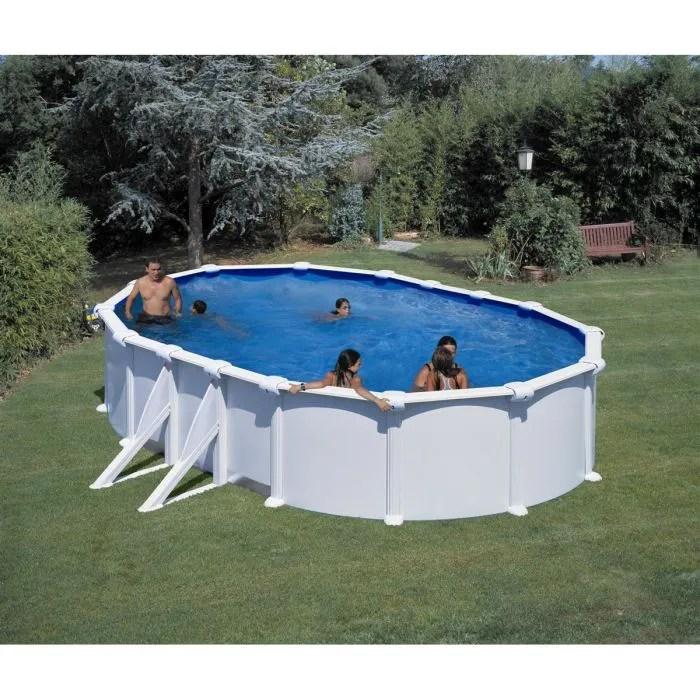 gre piscine ovale acier 5 27 x 3 27 x h