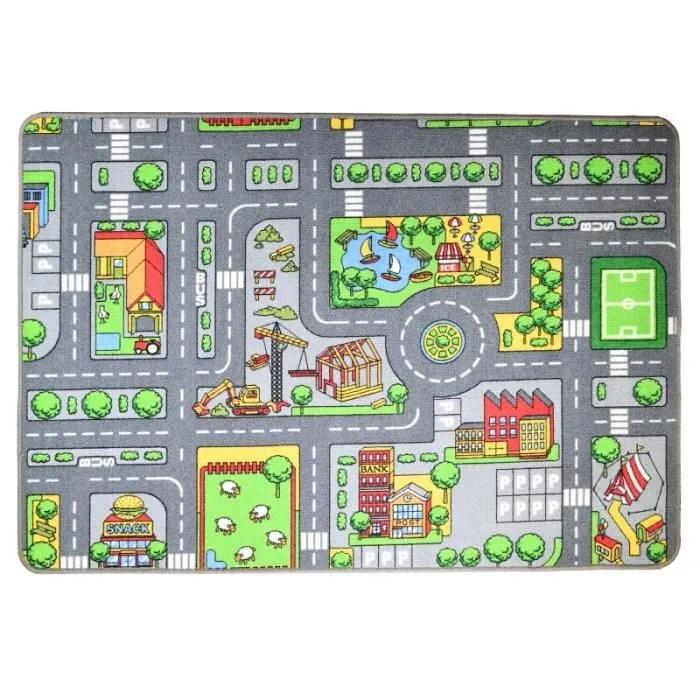 https www cdiscount com juniors circuits tapis de jeu circuit de voiture en ville 133 x f 1207110 pla3700998967503 html
