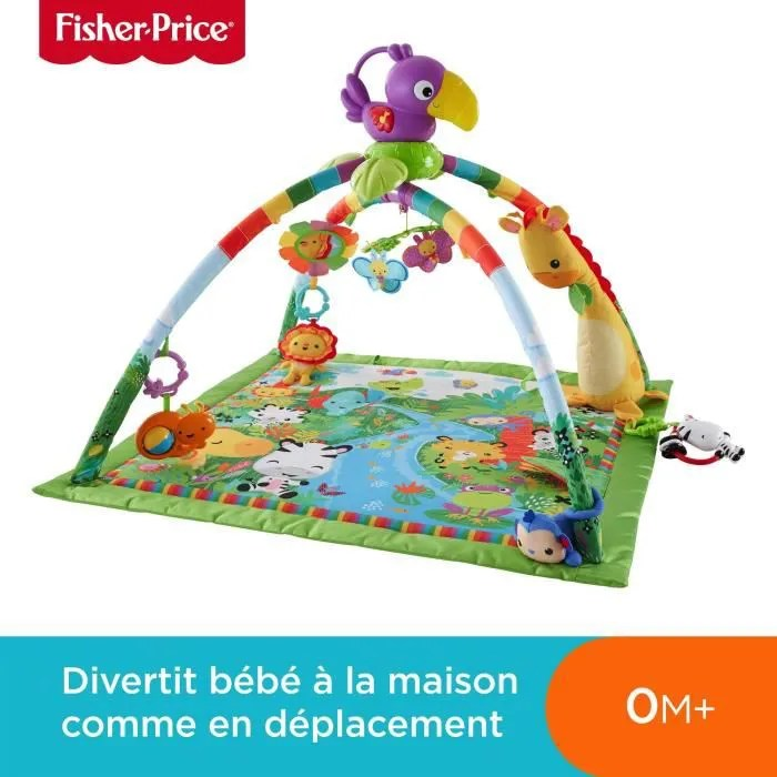 fisher price tapis musical d eveil de la jungle po