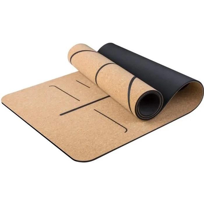 https www cdiscount com le sport fitness musculation yoga tapis de yoga dessus en bois de liege naturel 100 f 121041702 jas6875422270508 html