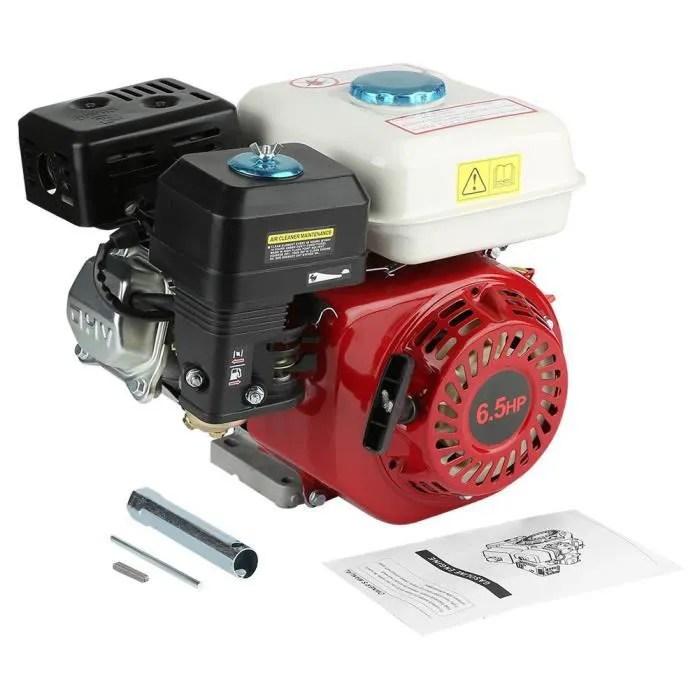 Moteur A Essence Thermique 6 5 Cv Moteur Thermiqueessence 4 Temps 168f Ohv Replacement Petrol Engine Cdiscount Auto