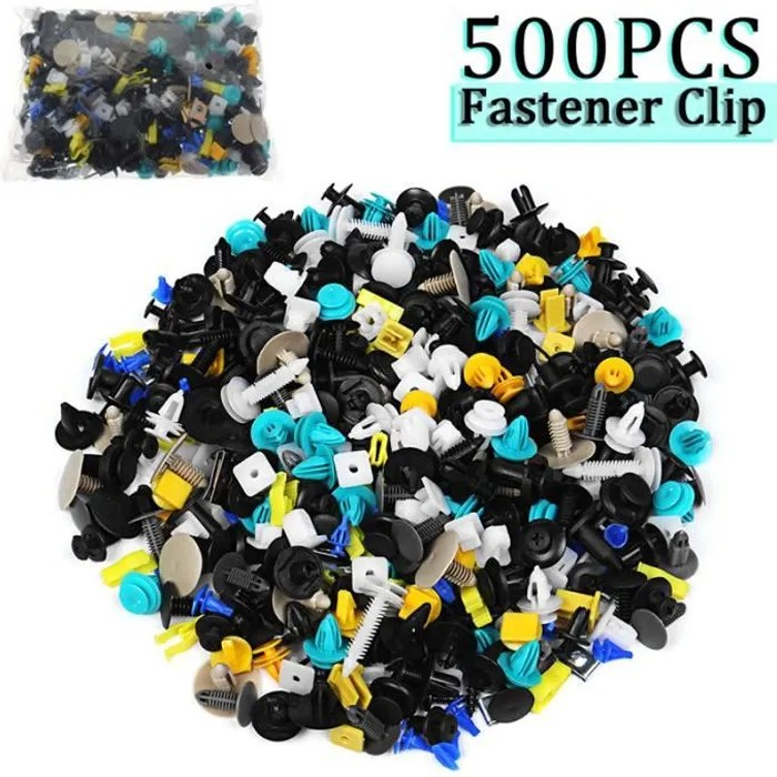clips agrafe plastique renault