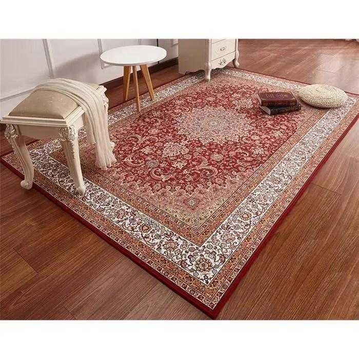 tapis persan a motif de table basse salon tapis vi