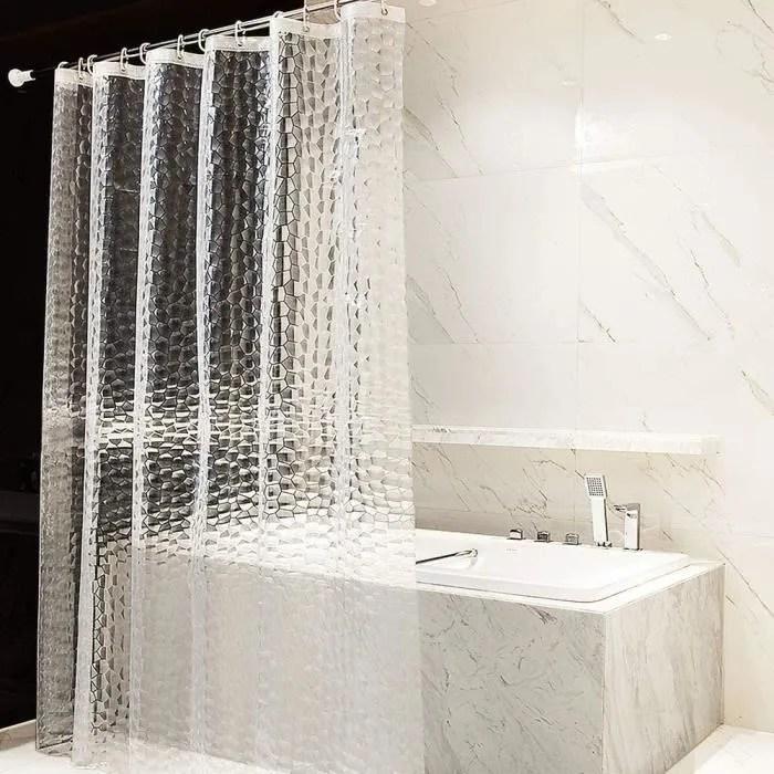 rideau de douche eva etanche rideaux salle de bain
