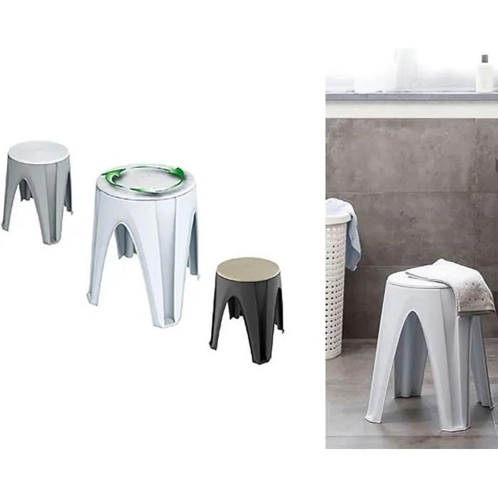 tabouret universel salle de bain vitaeasy avec ass