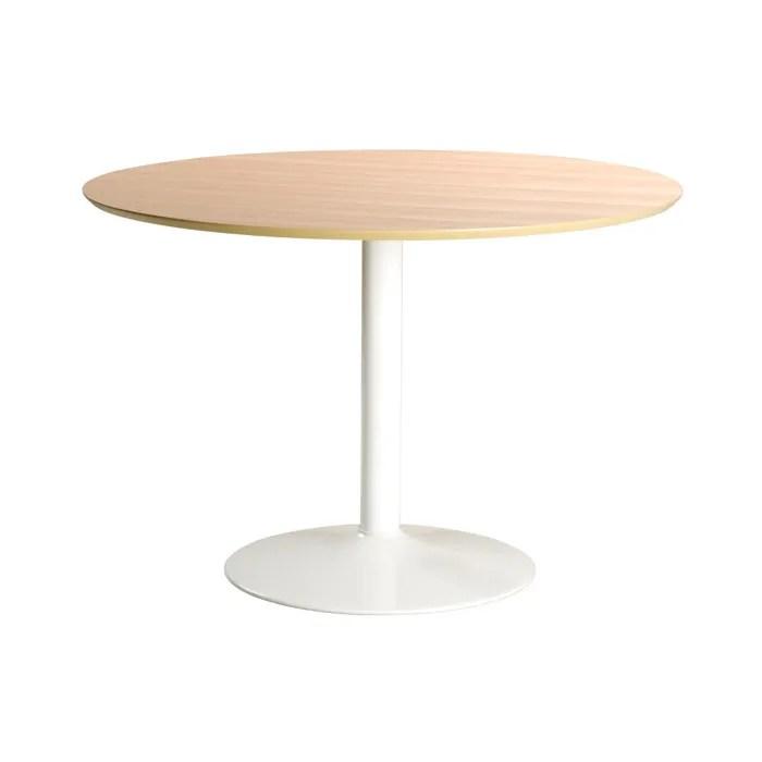 table ronde bois clair