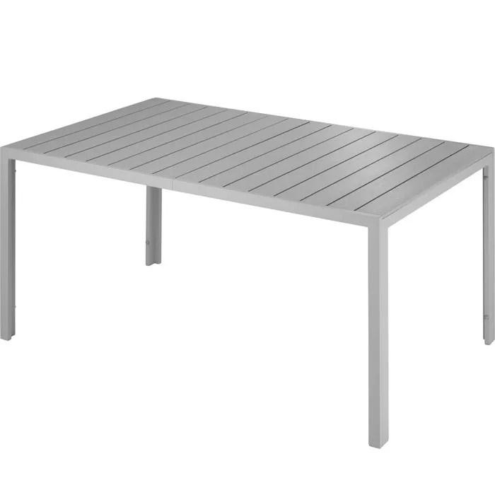 table de jardin en aluminium achat