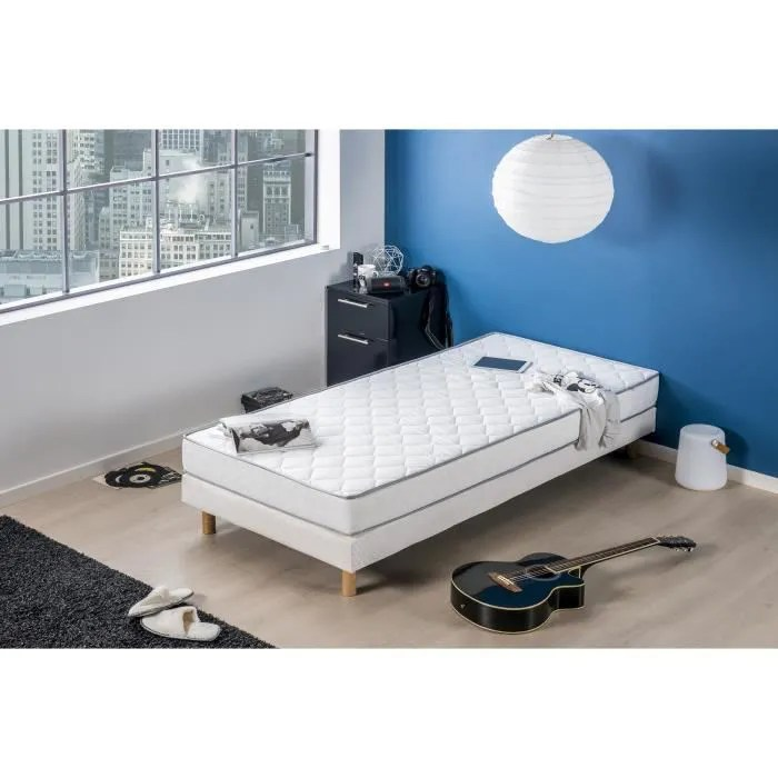 matelas mousse 90 x 200 confort ferme epaisseur 16 cm deko dream kiva