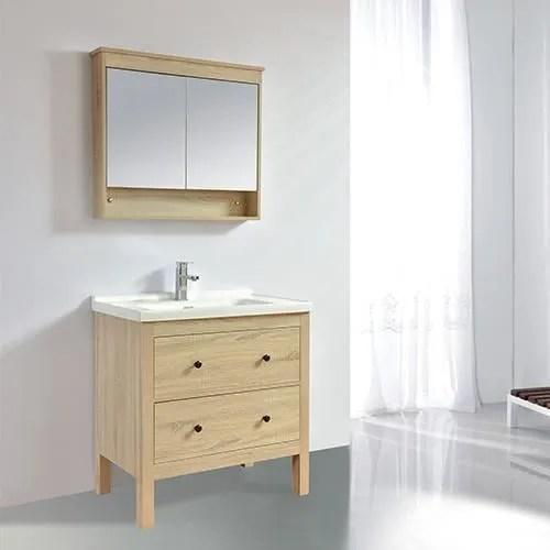 meuble salle de bain design 80 cm typo