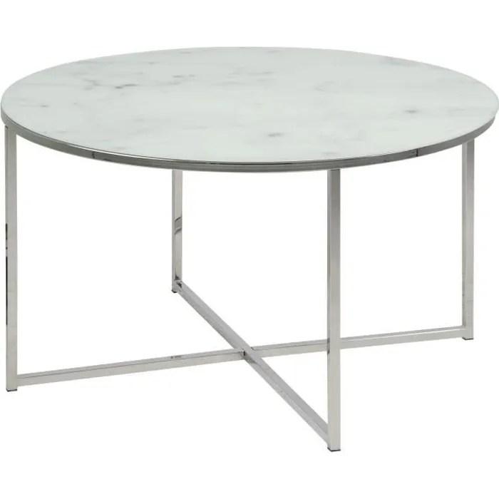 table bistrot en marbre