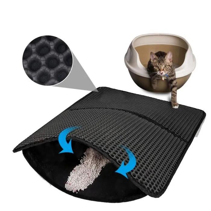 tapis litiere pour chat coussin pour bac a litier