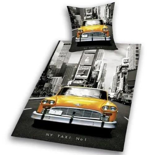 Housse De Couette New York Taxi Jaune 140 X 200 Cm Achat Vente Housse De Couette Seule Cdiscount