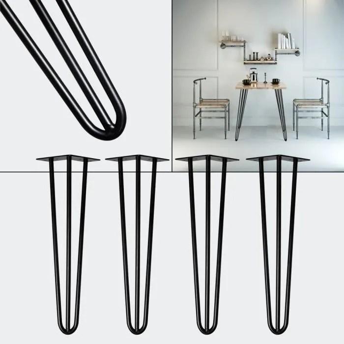 pied de table en metal