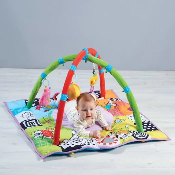 taf toys tapis d eveil newborn gym 98 x