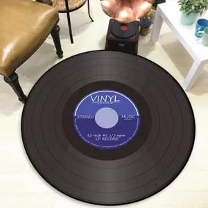 tapis disque vinyle